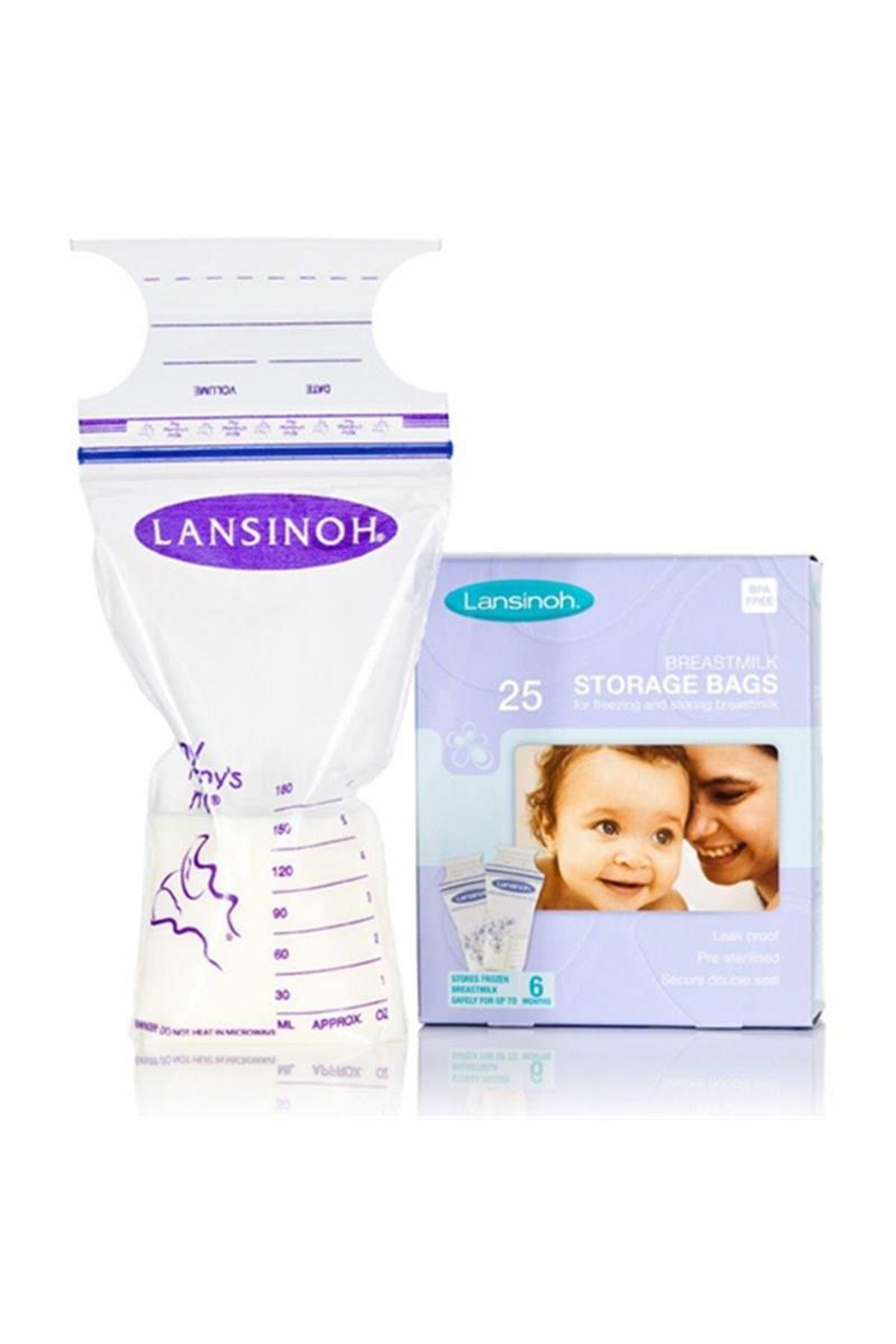 Lansinoh Anne Sütü Saklama Poşeti 25 Adet