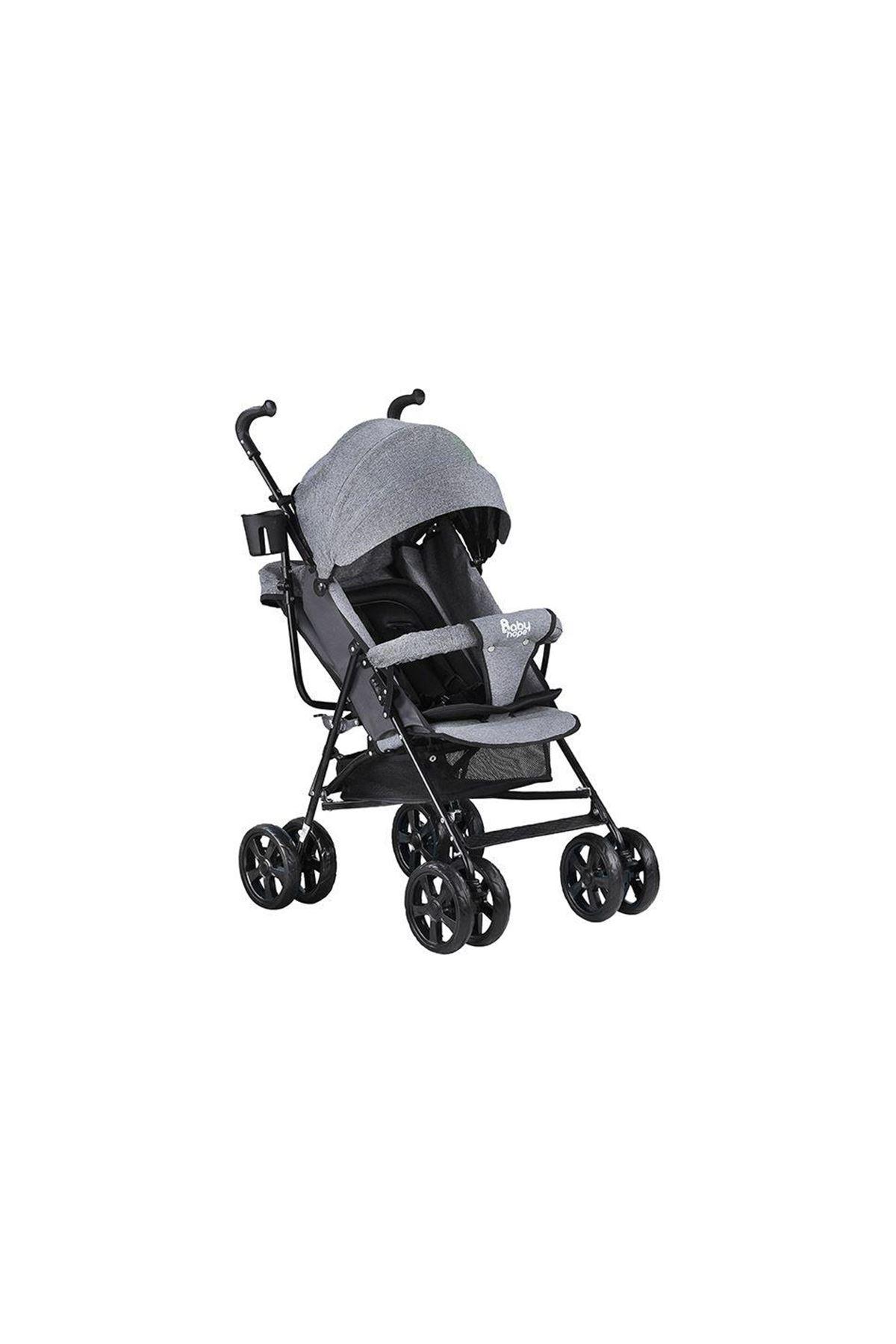 Babyhope SA7 Baston Bebek Arabası Gri