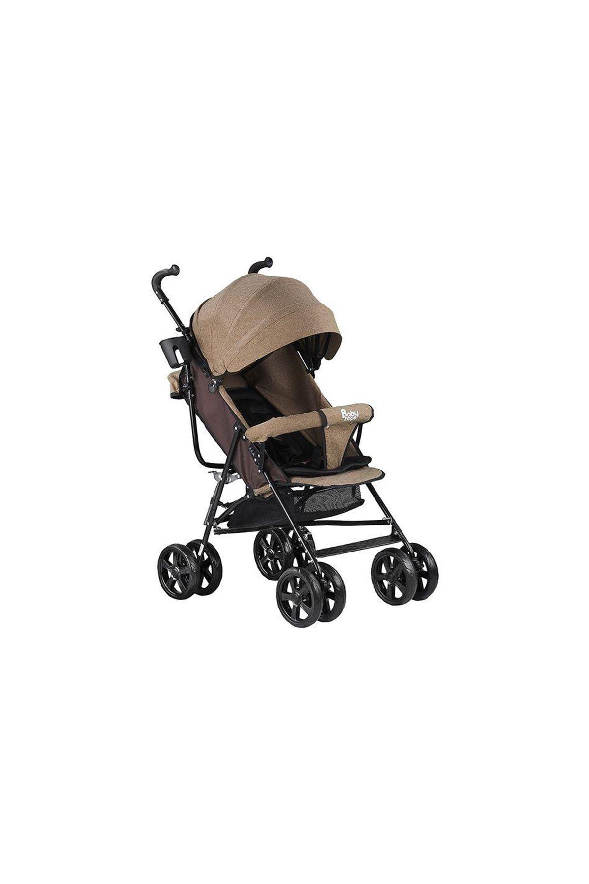 Babyhope SA7 Baston Bebek Arabası Kahve
