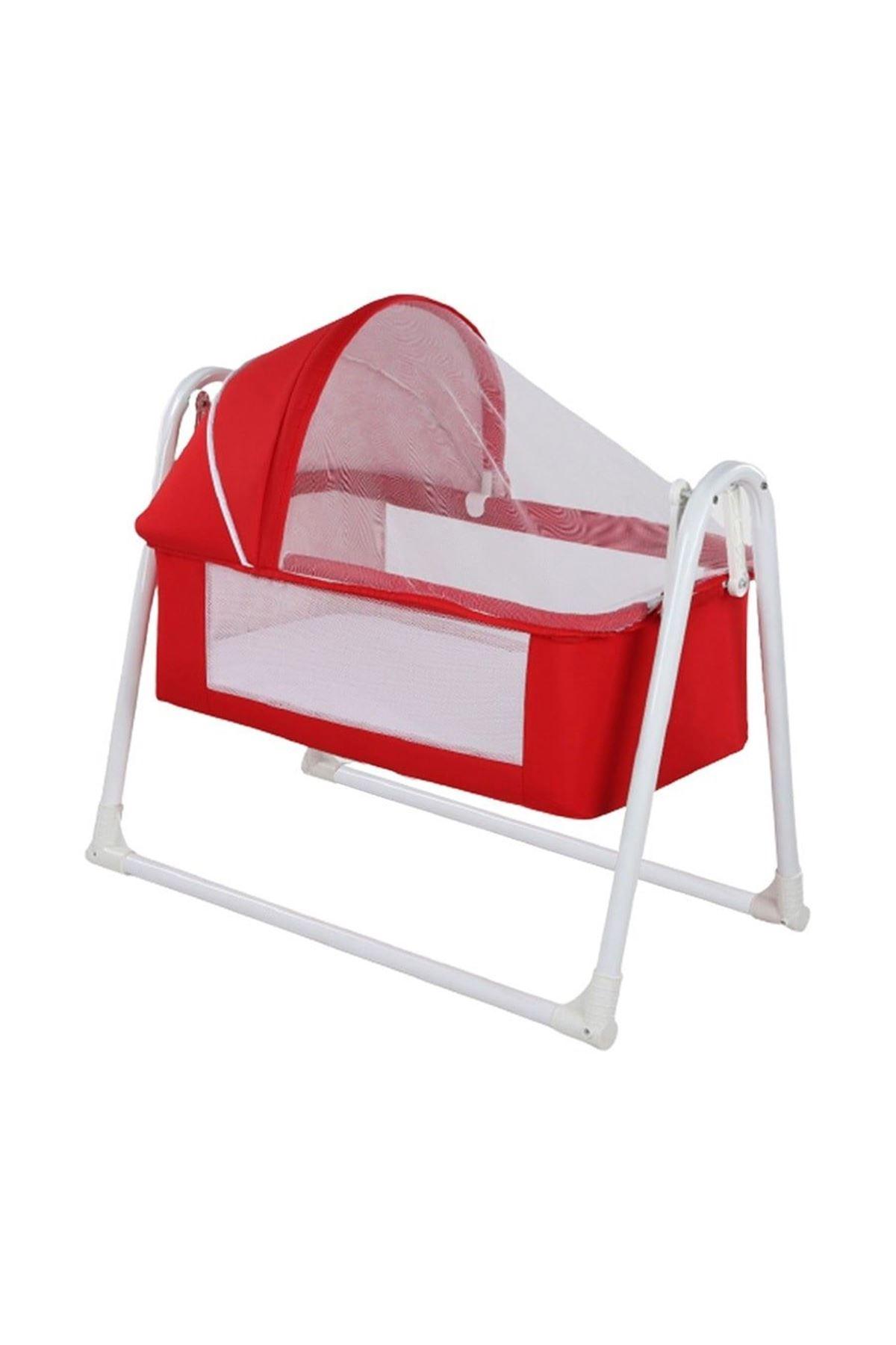Plus Sallanır Bebek Beşik - Kırmızı