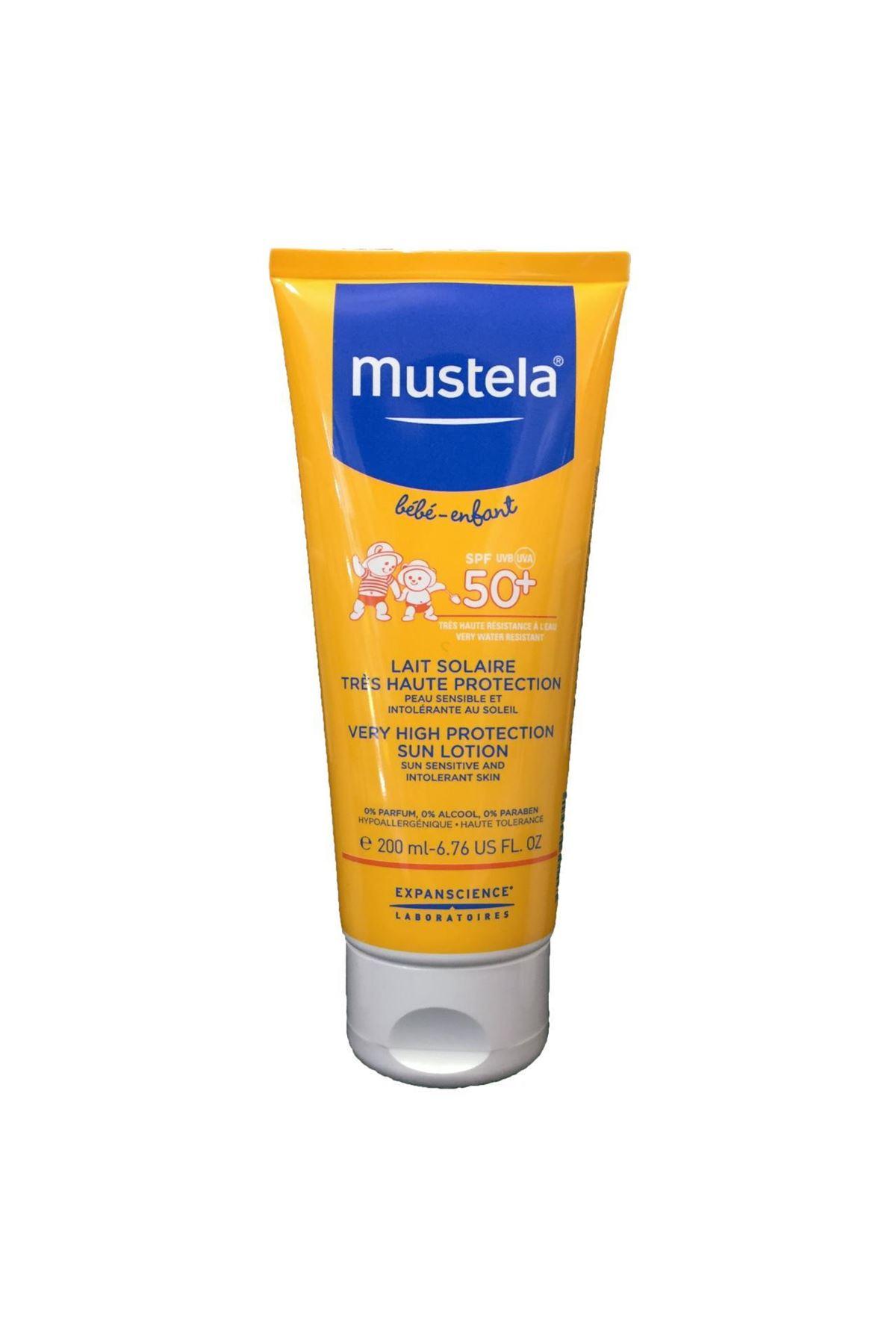 Mustela Very Higt Protection Güneş Losyonu 50 SPF 200 ML