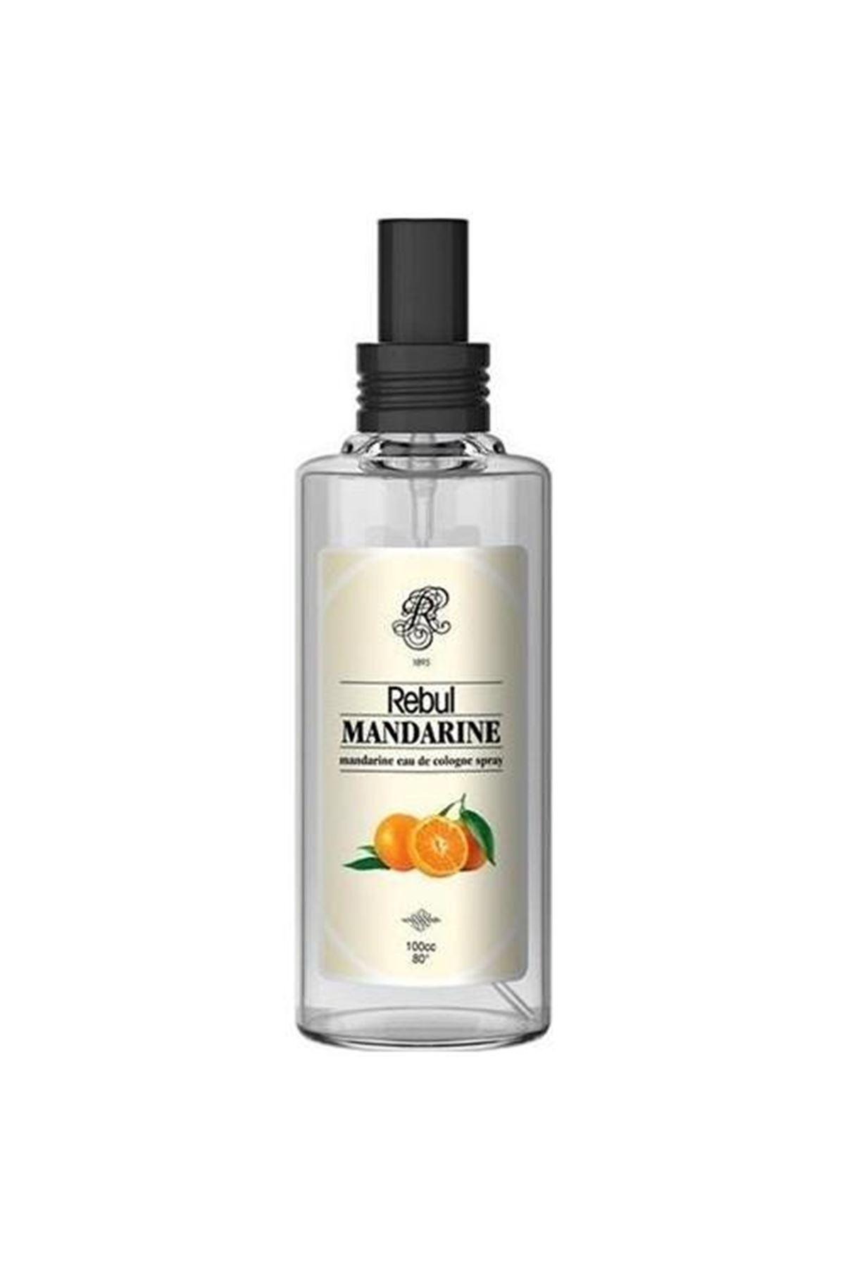 Rebul Kolonya Sprey Cam Şişe 100 Cc Mandarine