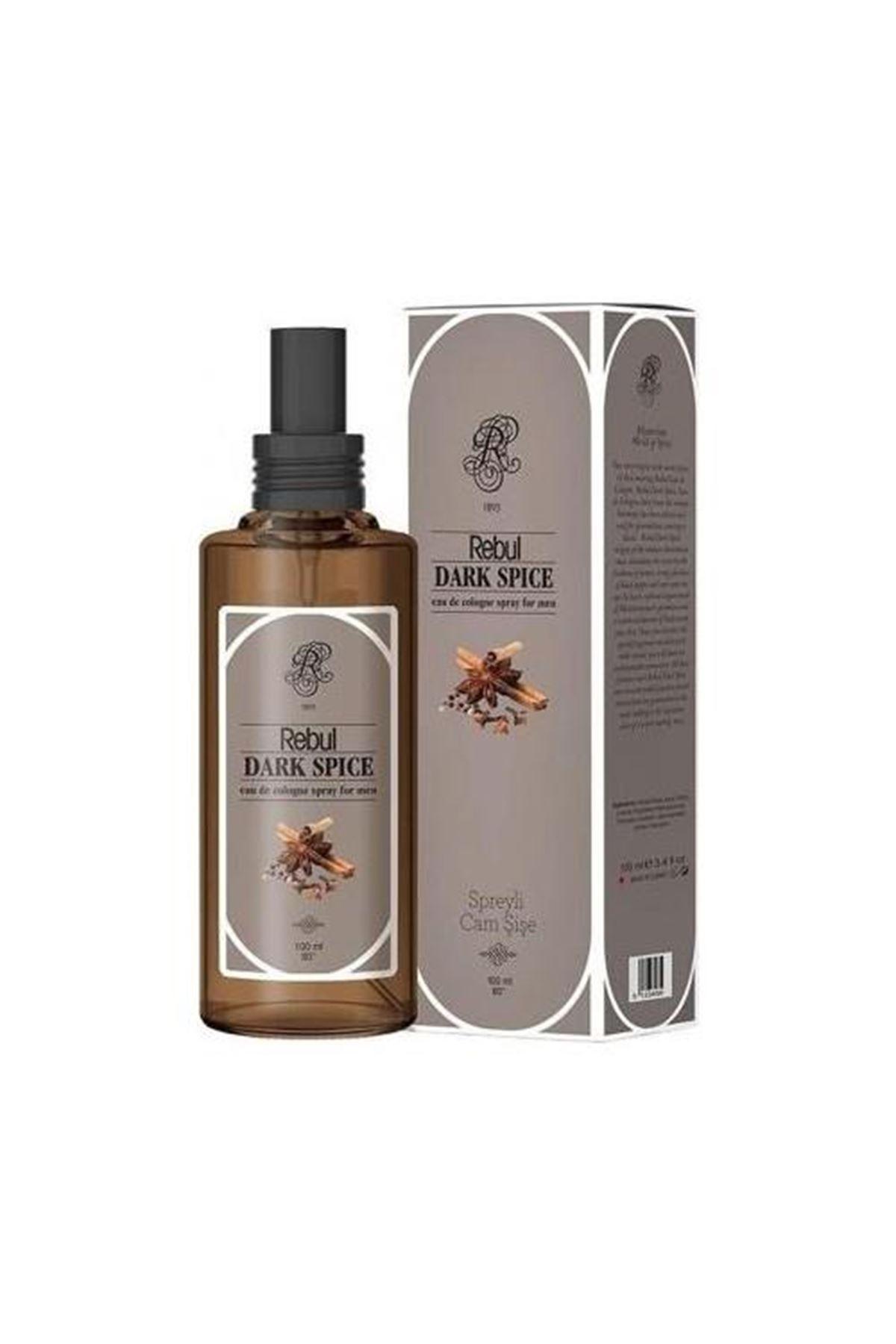 Rebul Kolonya Sprey Cam Şişe 100 Cc Dark Spice