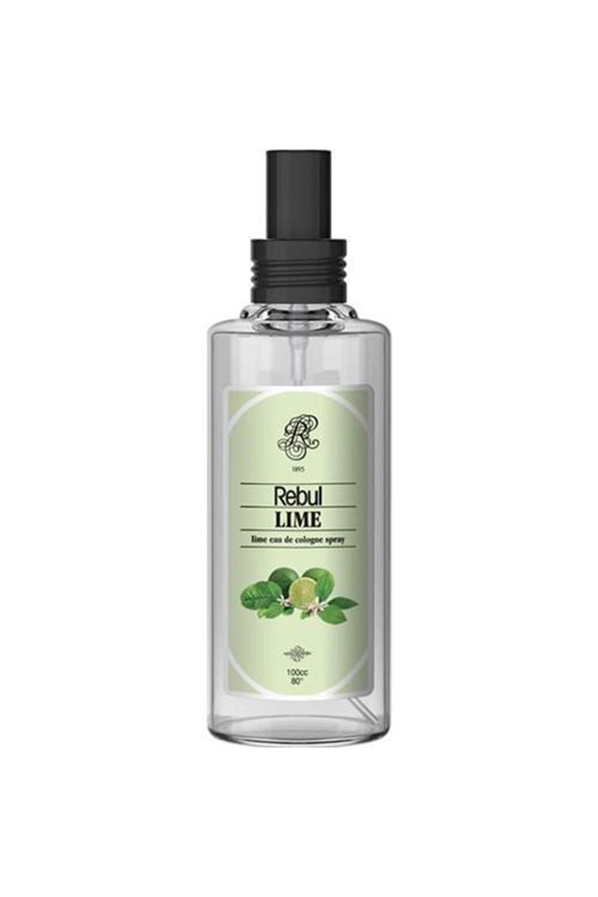 Rebul Kolonya Sprey Cam Şişe 100 Cc Lime
