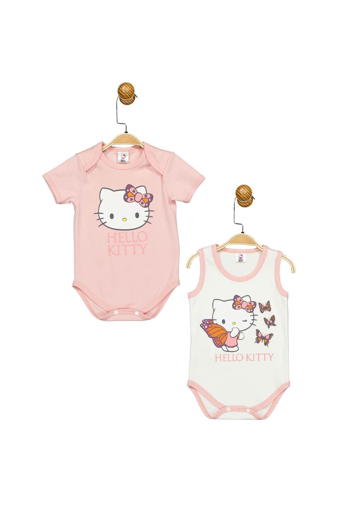 Çimpa Hello Kitty 2li Body HK17476 Somon Ekru