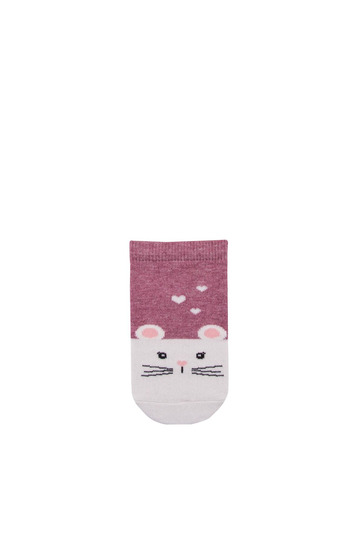 Step Just Be You Mouse Patik Soket Çorap 3856 Karışık Renkli
