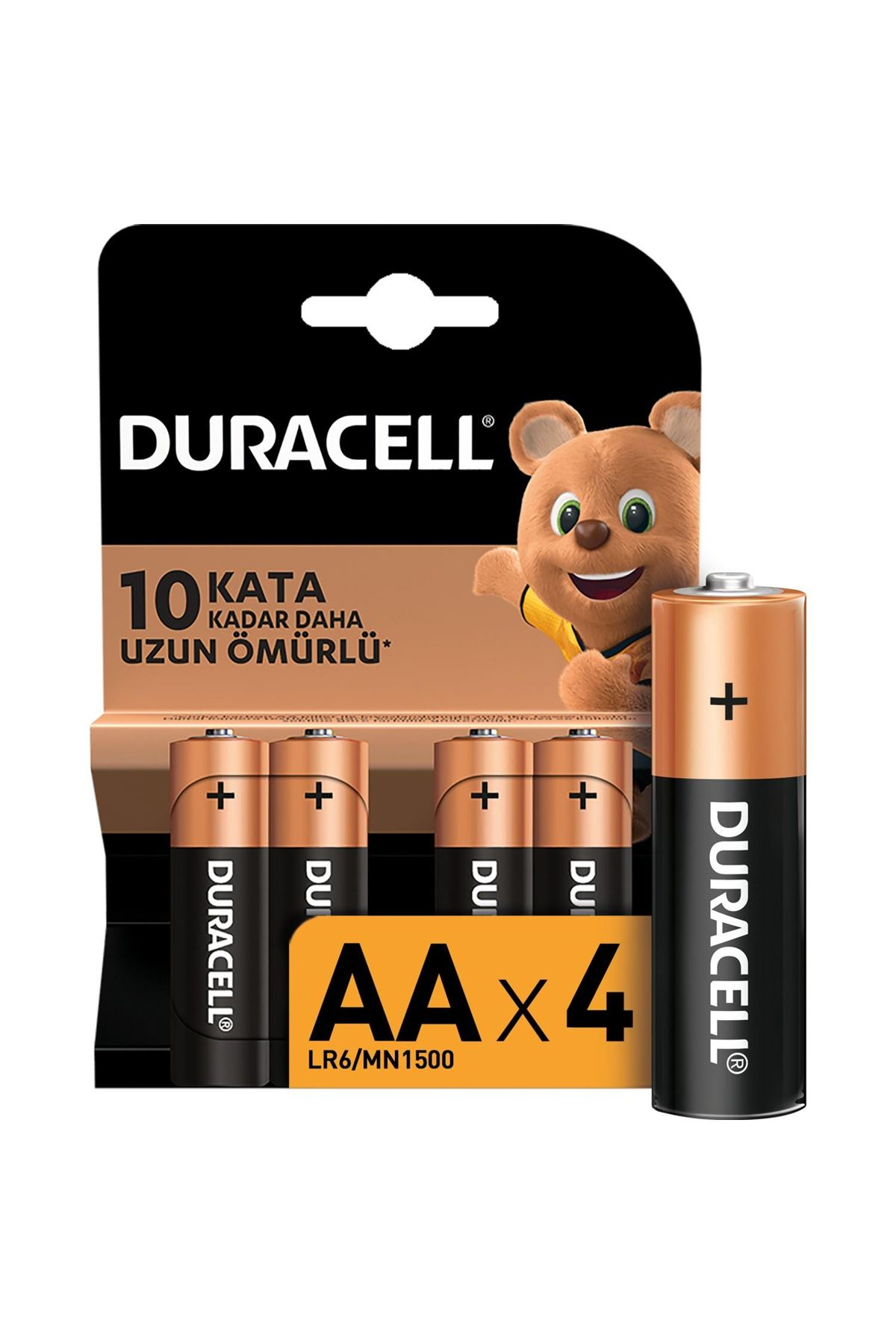 Duracell Basic Kalem Pil 4LÜ AA