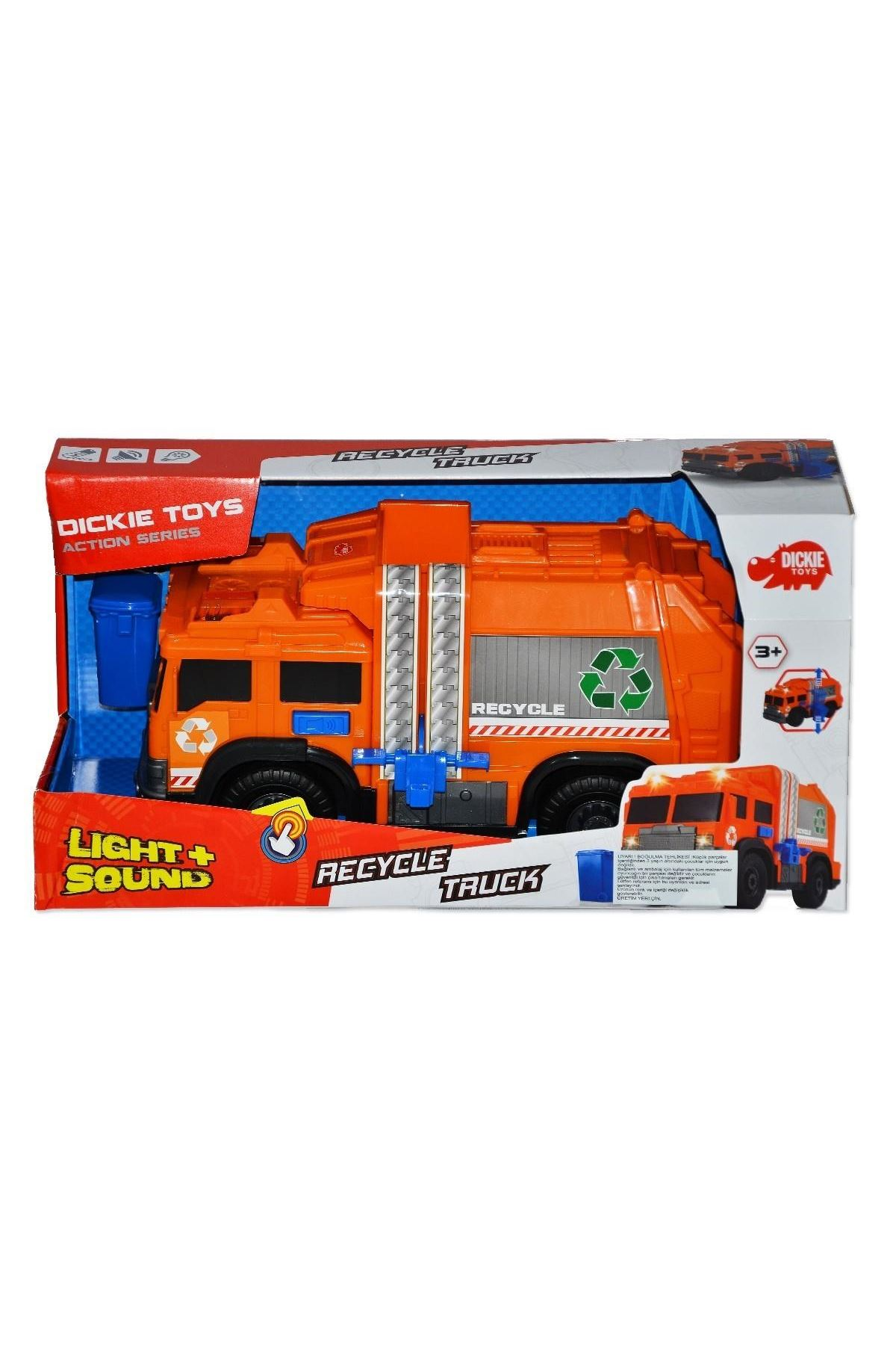 Dickie Toys Recycle Truck 6001