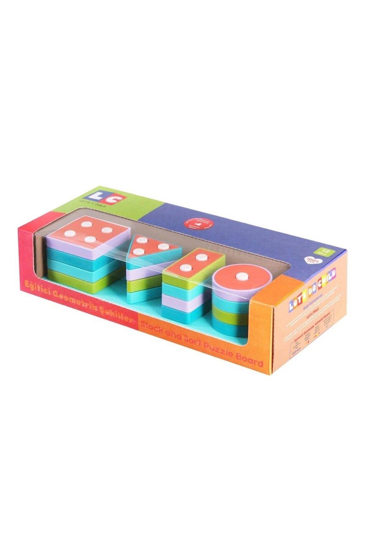 Enfal Oyuncak LC Geometrik Şekiller LC-30890