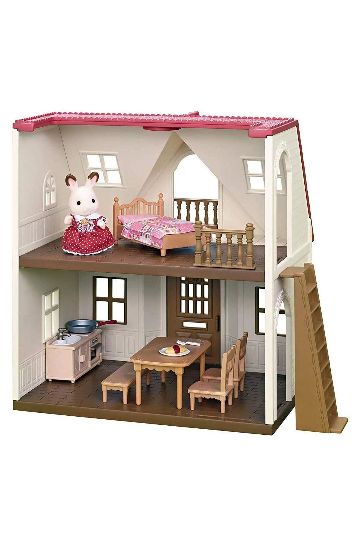 Sylvanian Families Red R Cosy Cottage 5303