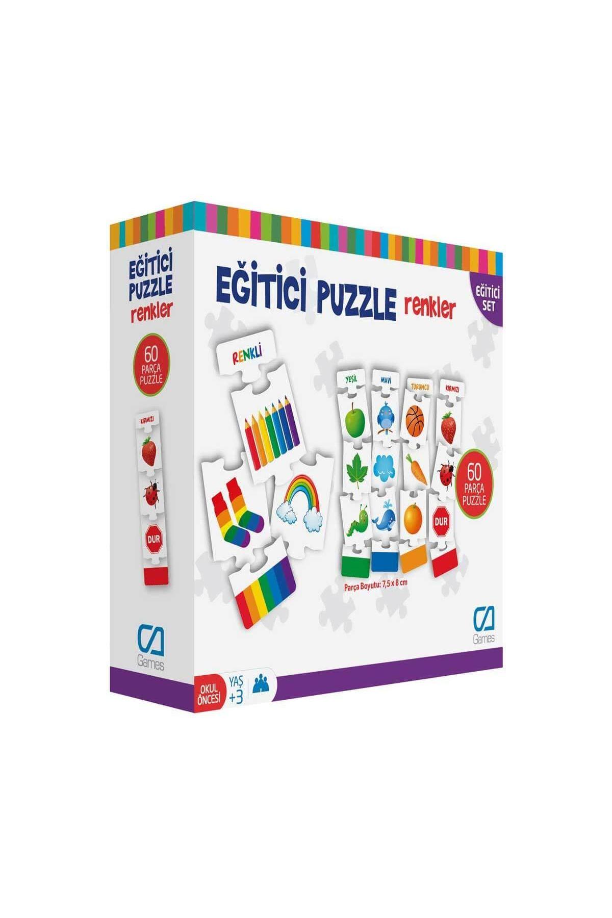 Games Eğitici Puzzle Renkler 60 Parça 5029