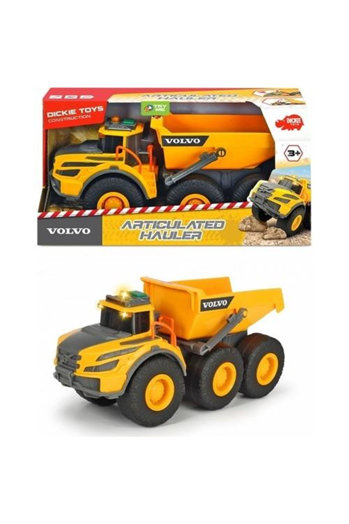 Dickie Toys Volvo Artıculated Hauler 3004