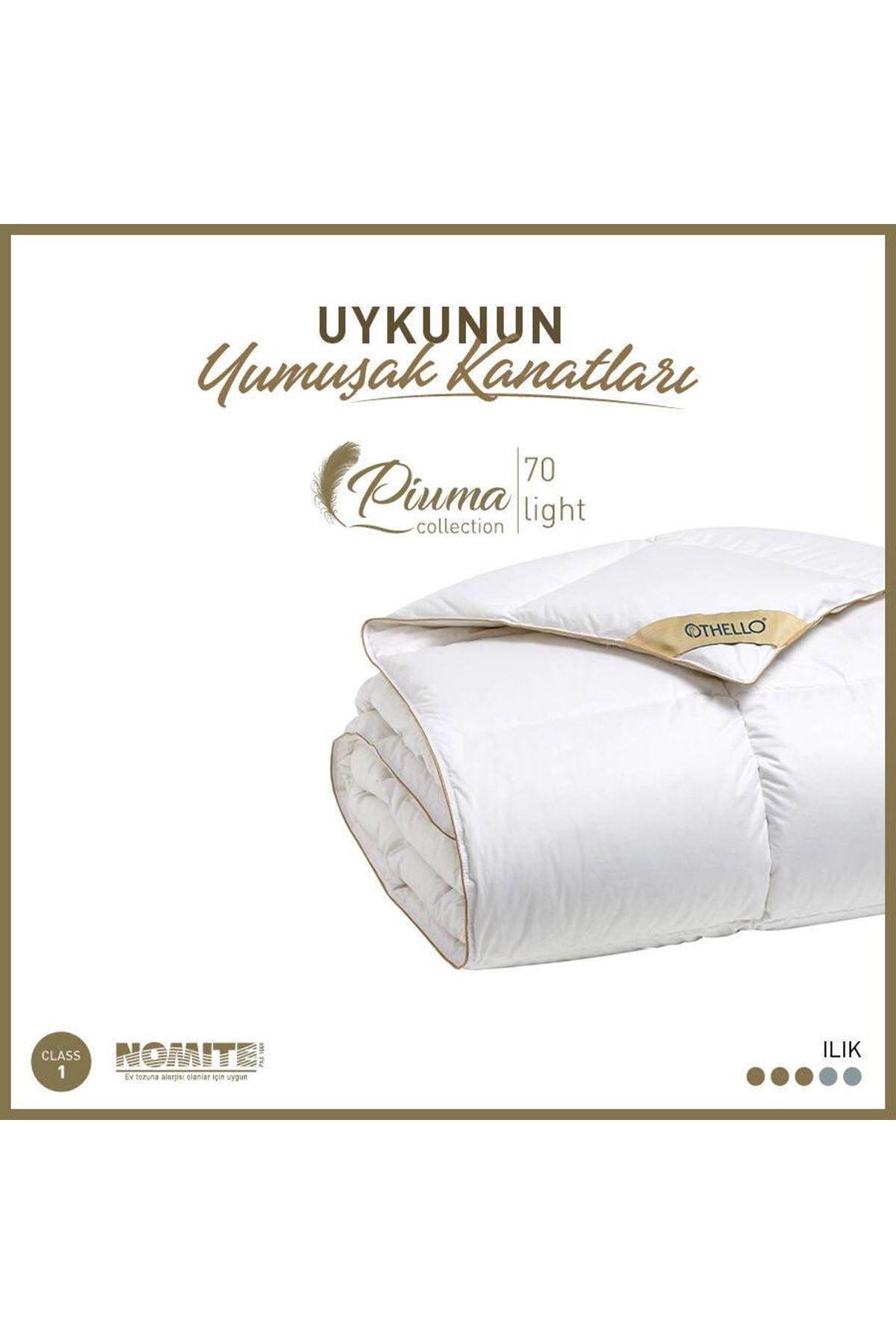 Othello Piuma 70 Light %70 Gıdık Kaz Tüyü Yorgan 155x215